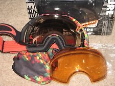 Oakley Airbrake Jake Blauvelt Signature Goggle/VR50Pink+Persimmon.NWT.ASIAN FIT