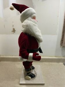 RARE Harold Gale Animated Store Display Santa