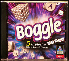 Habro's Boggle: 5 Explosive Word Search Games (Windows PC, 1997)