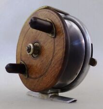 "** Vintage Hardy Bros. Ltd The Longstone 3.75"" Fishing Reel Made in England **"