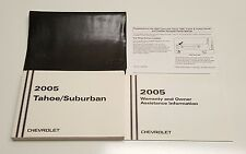 2005 CHEVROLET TAHOE / SUBURBAN OWNERS MANUAL Z-71 LT LS WT V8 5.3L 4.8L OEM SET