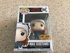 Stranger Things Max with Michael Myers Costums Hot Topic Funko Pop