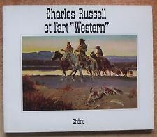 ART - PEINTURE   CHARLES RUSSELL ET L ART WESTERN - E.O. -1975- d9360b5f5bf