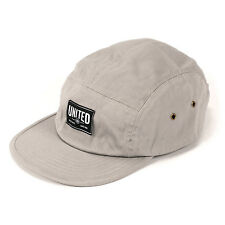 United BMX Signature Label 5 Panel Hat – Grey