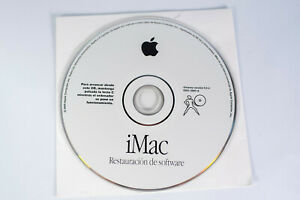 Apple iMac Software Install Disc CD DVD  Software Purchased in Spain Version 9