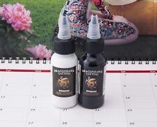 DragonHawk Tattoofarbe 2in1 Set (je 30ml) Tattoo Farbe Tätowierfarbe Ink Color