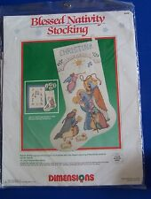 Dimensions Blessed Nativity Stocking Counted Cross Stitch Kit  8358 Karen Avery