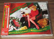 SEALED! PROMO issue! CYNDI LAUPER Japan CD obi MERRY CHRISTMAS Have A Nice Life