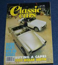July Cars, Pre-1960 Transportation Magazines