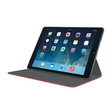 LOGITECH CASE FOR IPAD AIR 2 FOLIO HINGE W/ ANY ANGLE STAND RED NEW 939-001091