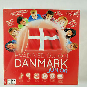 Foreign Language Danish Board Game - What Do You Know About Denmark Junior  NEW