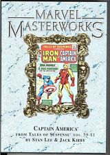 Marvel Masterworks Captain America Hc Variant 1st print Limited 520 copies!