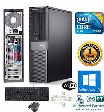 Dell Desktop PC COMPUTER 1TB HD Intel CORE 2 DUO 3.00GHZ 8GB WINDOWS 10 Pro 64