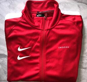 NWT Nike Double Swoosh Poly Knit Jacket - XL  (CJ4884-657)