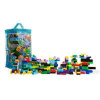 Dimple Soft Kid-Friendly Plastic Multi Colored Building Block Set (300 Pieces)