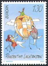 Liechtenstein 2004 Europa/Holidays/Hot Air Balloon/Aircraft/Animation 1v n42356