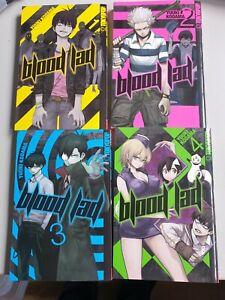 "Manga: ""blood lad""  Band 1-6  plus Sonderband ""blood lad brat"""