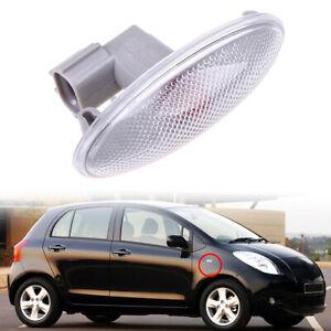 12V Side Marker Lights LED Amber Fender Lamp for Toyota Yaris 2005-2011
