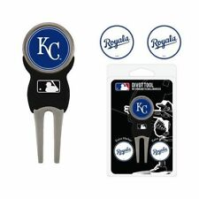 Brand New Kansas City Royals Baseball Team Golf Divot Tool 3 Magnetic Ball Marks
