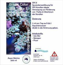 Aqua Marina Bright Color SPS II - 500 ml Spurenelemente Steinkorallen Korallen