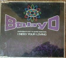 BABY D - I NEED YOUR LOVING - 1995 DANCE CD SINGLE