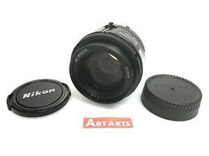 【EXCELLENT+++++】 Nikon AF Nikkor 50mm f/1.4 Standard Prime AF/MF Lens from JAPAN