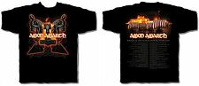 AMON AMARTH cd lgo AUTUMN TOUR 2007 Official SHIRT MED New wrath of norseman OOP