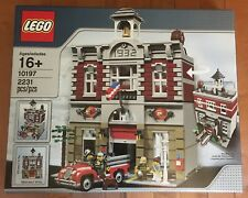 Lego 10197 Fire Brigade NEW 🚒 Modular Building +Firetruck Discontinued SOLD OUT