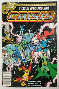 Crisis On Infinite Earths #1 - 1985 - Autographed by Marv Wolfman!