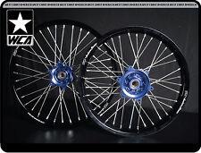 Juego De Ruedas YZ YZF WRF Motocross 99-13 Delantero Y Trasero Wheels AZUL/NEGRO