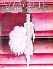 Vogue.1920's.Stunning.Fashion.Costume.Shadow.Retro.Vintage.Vogue print