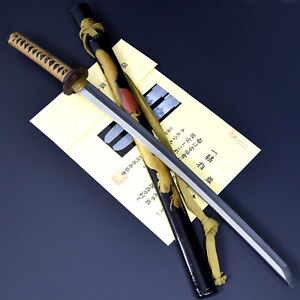 Authentic JAPANESE KATANA SWORD WAKIZASHI KOEI 刳栄 signed w/NBTHK HOZON PAPER NR!