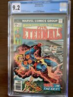 The Eternals #3 CGC 9.2 (Marvel 1976)  1st appearance of Sersi