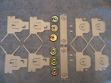 82 83 84 85 86 87 88 Olds Cutlass Lower Molding Clips - 16 Clips