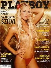 Playboy Hungary 2004/10 Pilar Lastra  Eva Herzigova  Szalontai Szilvia