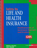 Intro to Life & Health Insurance - Desoutter, Kennedy (SC, 1998)
