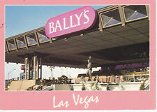 CASINO POSTCARD MEMORABILIA LAS VEGAS BALLY'S HOTEL #1 SLOTS TOKENS CHIPS