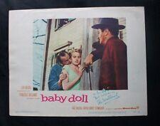 Original 1956 Signed ELI WALLACH Actor 11x14 Color Movie Poster JSA