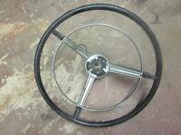 Orig CHEVY Steering Wheel CADILLAC GM Pontiac Olds 60 61 61 62 63 64 65 66 67 68
