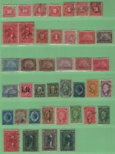 $US early Revenue stamp collection mix. cond. (lot #4)