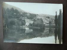 Fotografia Originale Antica Fonti Clitunno Campello Spoleto '900 Umbria Perugia