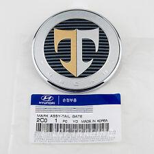 KDM Hyundai Tuscani Tiburon Tail Gate Trunk Emblem  *GENUINE OEM* 86330-2C000
