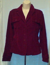 LIVE A LITTle jacket,SIZE S,STRETCH CORDUROY,PATCHED ELBOWS,BUCKLES ON  WAIST