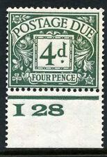 1924 4d POSTAGE DUE (I28) CONTROL.SG D15