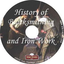 History of Blacksmithing {How To Be a Blacksmith ~ Make Money } on DVD