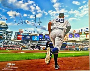 New York Yankees Aaron Judge Signed 16x20 Photo Fanatics + MLB Holo