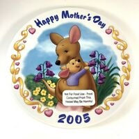 Disney Mother's Day 2005 - A Mother's Embrace - Kanga & Roo Collectible Plate
