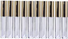 Lurrose 10pcs 10ml Lip Gloss Tubes Bulk with Wand Empty Plastic Lipstick Bottles