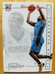 Oladipo 5/5 ROOKIE! Matches Jersey Number Signatures Magic Pacers RC SP Ebay 1/1