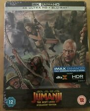 Jumanji The Next Level - 4K UHD + Blu-ray - STEELBOOK EDITION - New & Sealed